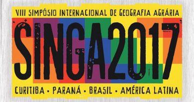 Especial  VIII Simpósio Internacional e IX Simpósio Nacional de Geografia Agrária SINGA