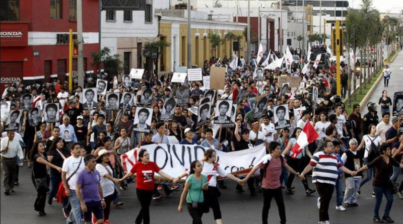 marcha por el indulto a fugimori