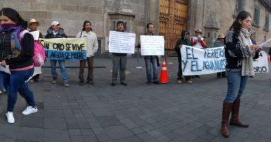 Comunidad de Ixtacamaxtitlan Puebla, rechaza proyecto minero en su territorio